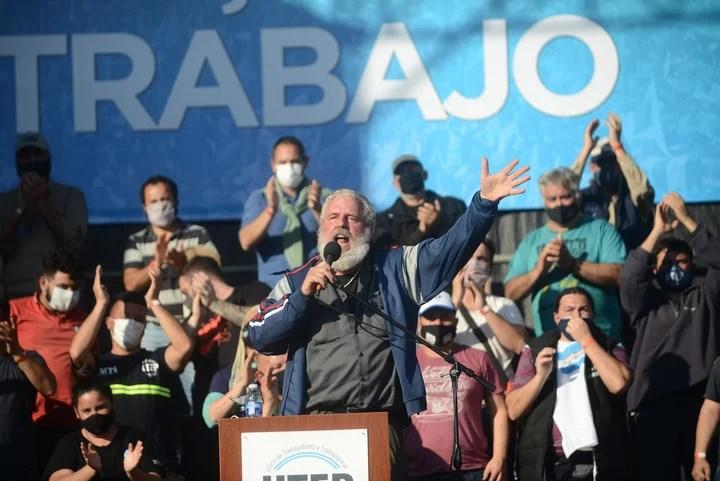 "Stephen ""Gringo"" Castro is the secretary general of the UTEP.  Photo: Emmanuel Fernández."