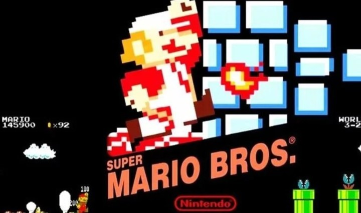 Super Mario Bros., one of the most iconic games in history.  Photo Nintendo