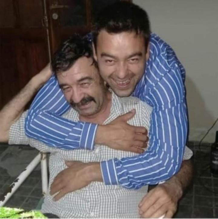 Sergio Canteros y su padre, Julio César. Los dos fueron asesinados frente a un santuario del Gauchito Gil en Mercedes, Corrientes.