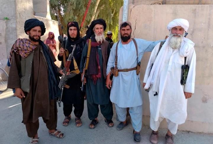 Taliban in Frah, southwest.  AP Photo