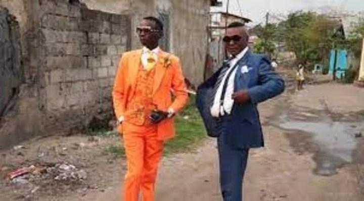 """The Sapeurs o """"Dandis of the Congo"""" They belong to Le SAPE (La Société des Ambianceurs et des Personnes Elegantes)."""