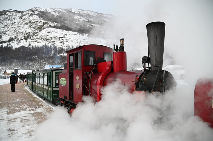 The End of the World Train, in Ushuaia.