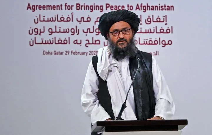 Mullah Abdul Ghani Baradar is designated as the next head of government.  Photo: AFP