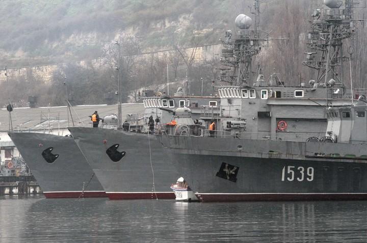 Russian fleet in Crimea.  Photo: Reuters