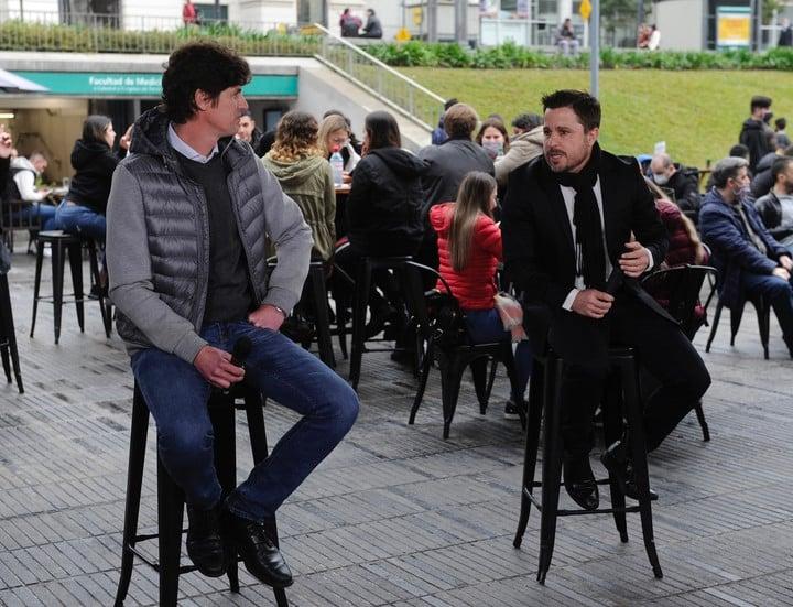 Martín Tetaz has the support of Martín Lousteau.  Photo Juan Manuel Foglia