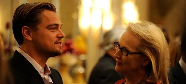 Elencazo. Leo DiCaprio y Meryl Streep son solo dos de sus estrellas.