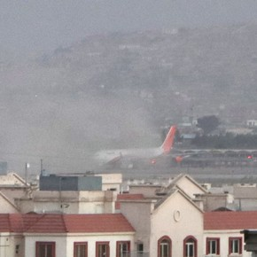 Two ISIS suicide attacks sparking massacre at Kabul airport