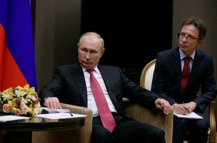 El presidente de Rusia, Vladimir Putin. Foto: Reuters