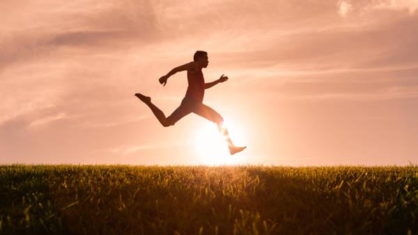 El atardecer sería el mejor horario para correr.