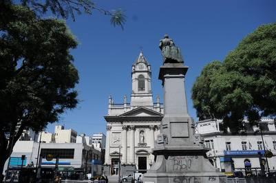 Basilica de San Jose de Flores. Es de fines del siglo XIX. Está en Rivadavia 6950. /Emiliana Miguelez