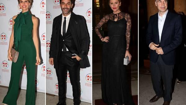 Mariana Fabbiani, Mariano Martínez, Barbie Simons y Horacio Rodríguez Larreta dijeron presente. (Movilpress)