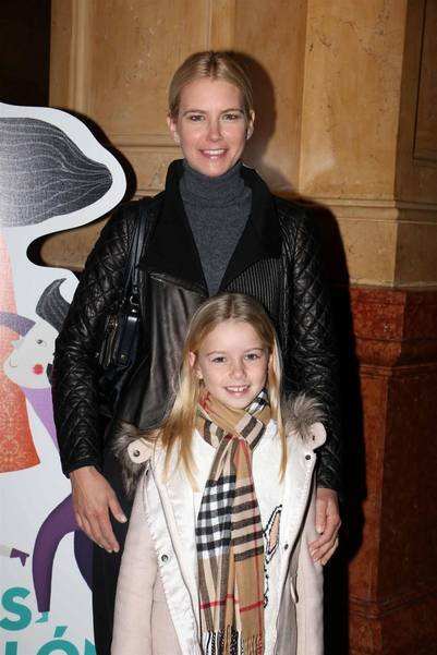 Valeria Mazza estuvo presente junto a su hija Taína. (Movilpress)