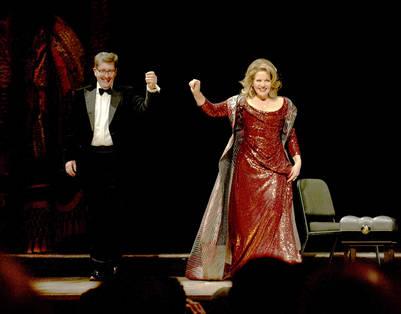 Renee Fleming en el teatro Colon. Foto prensa