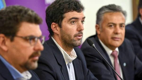 El titular de la ANSES, Emilio Basavilbaso (foto de Alfredo Ponce, Télam)