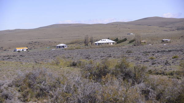 Terrenos donde se levanta la represa Néstor Kirchner. Foto Fernando de la Orden