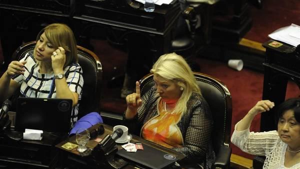 Sesión ordinaria en Cámara de Diputados en la que se trata el proyecto del Poder Ejecutivo para derogar la ley cerrojo, emitir nueva deuda para pagarle a los fondos buitre y así salir del default. FOTO PEDRO LAZARO FERNANDEZ