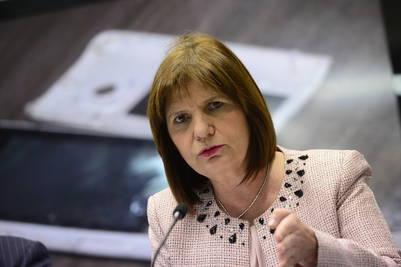 Patricia Bullrich, ministra de Seguridad de Mauricio Macri | David Fernández