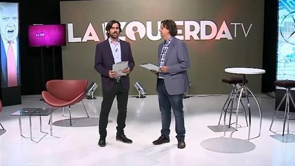 """""""La izquierda TV"""", el nuevo programa que saldrá todos los domingos (Captura de Youtube)"""