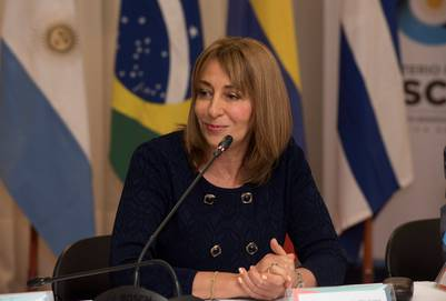 La procuradora Alejandra Gils Carbó, a fines de mayo.