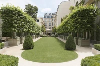 Grand Jardin del hotel.