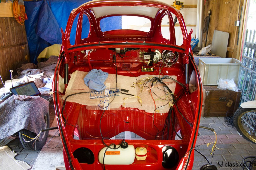 medium resolution of vw beetle restoration wiring the original harness i did as much as possible of the