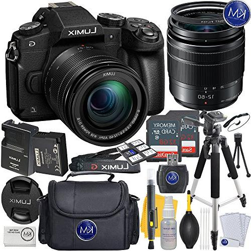 Panasonic Lumix DMC-G85MK Mirrorless Digital Camera w/12-60mm Lens