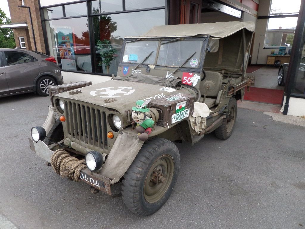 hight resolution of used 1942 jeep willys 1942 willys ford military jeep selection of spares available