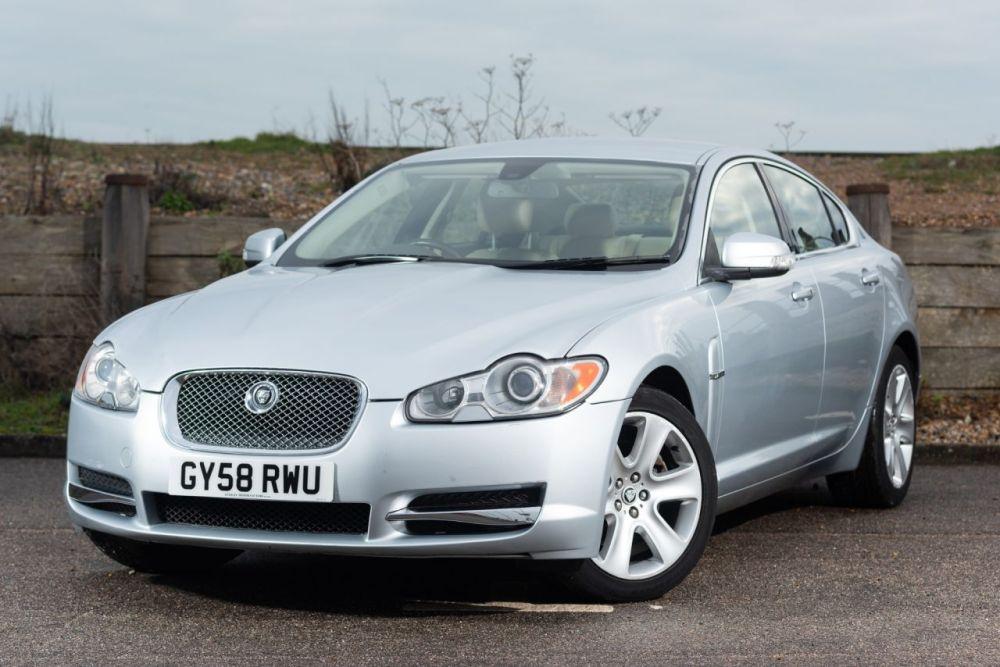 medium resolution of used 2008 58 jaguar xf 2 7 premium luxury v6 4d auto 204 bhp just 58 000 miles