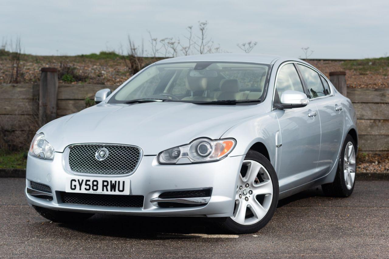 hight resolution of used 2008 58 jaguar xf 2 7 premium luxury v6 4d auto 204 bhp just 58 000 miles