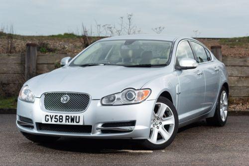 small resolution of used 2008 58 jaguar xf 2 7 premium luxury v6 4d auto 204 bhp just 58 000 miles