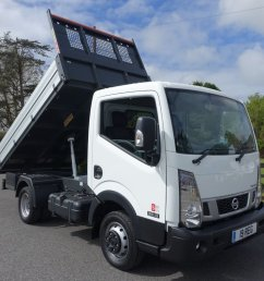 used 2019 19 nissan cabstar nt 300 35 13 swb tipper 30 dci 130 bhp good saving  [ 1024 x 768 Pixel ]