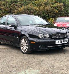 2008 58 jaguar x type 2 0 s 4d 129 bhp [ 1024 x 768 Pixel ]