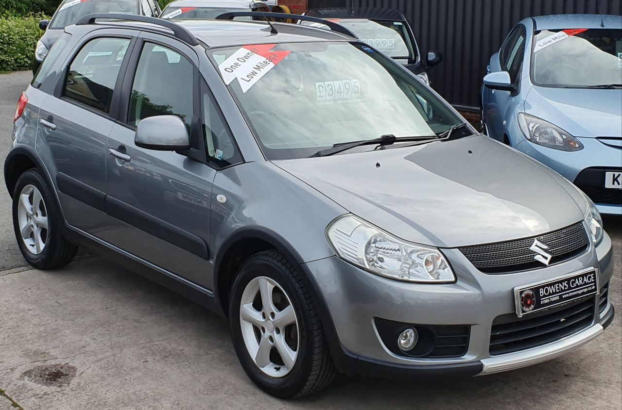hight resolution of used 2008 58 suzuki sx4 1 6 glx 5d 107 bhp 1 lady owner low miles