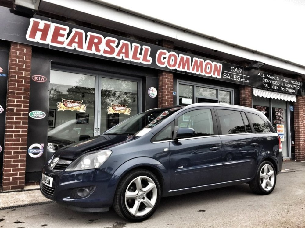 medium resolution of used 2011 11 vauxhall zafira 1 8 sri 5d 138 bhp