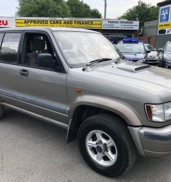 used 2001 51 isuzu trooper 3 0 lwb dt duty 5d 157 bhp in metallic silver with  [ 1024 x 768 Pixel ]