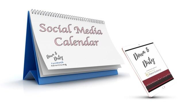 Downloadable & Editable Soial Media Calendar Spreadsheet