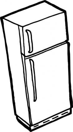 Kylskåp disposition ClipArt clipart, gratis clipart