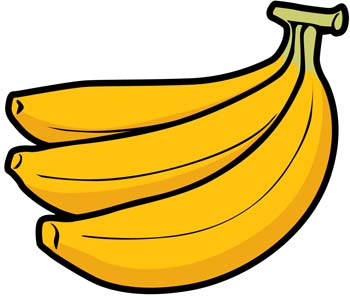 banana 8 clip arts free clipart