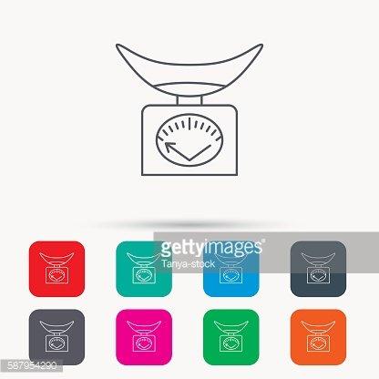 kitchen weight scale macys table 体重秤图标 厨房称量工具标志 premium clipart clipartlogo com