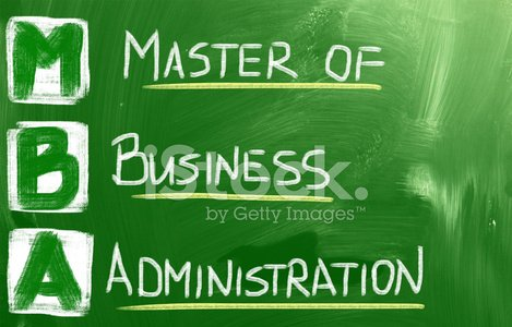 Master Of Business Administration Concept Clipart Image