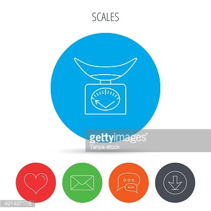 kitchen weight scale roman shades 体重秤图标 厨房称量工具标志 premium clipart clipartlogo com