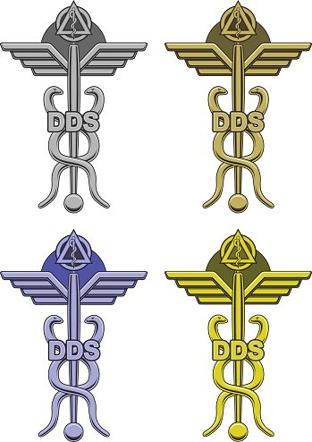 dentistry symbol in four