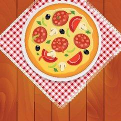 Kitchen Napkins Design Online 在白板上厨房餐巾在木板上的比萨饼premium Clipart Clipartlogo Com 在白板上厨房餐巾在木板上的比萨饼