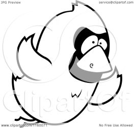 bird flying cartoon clipart coloring vector outlined thoman cory royalty