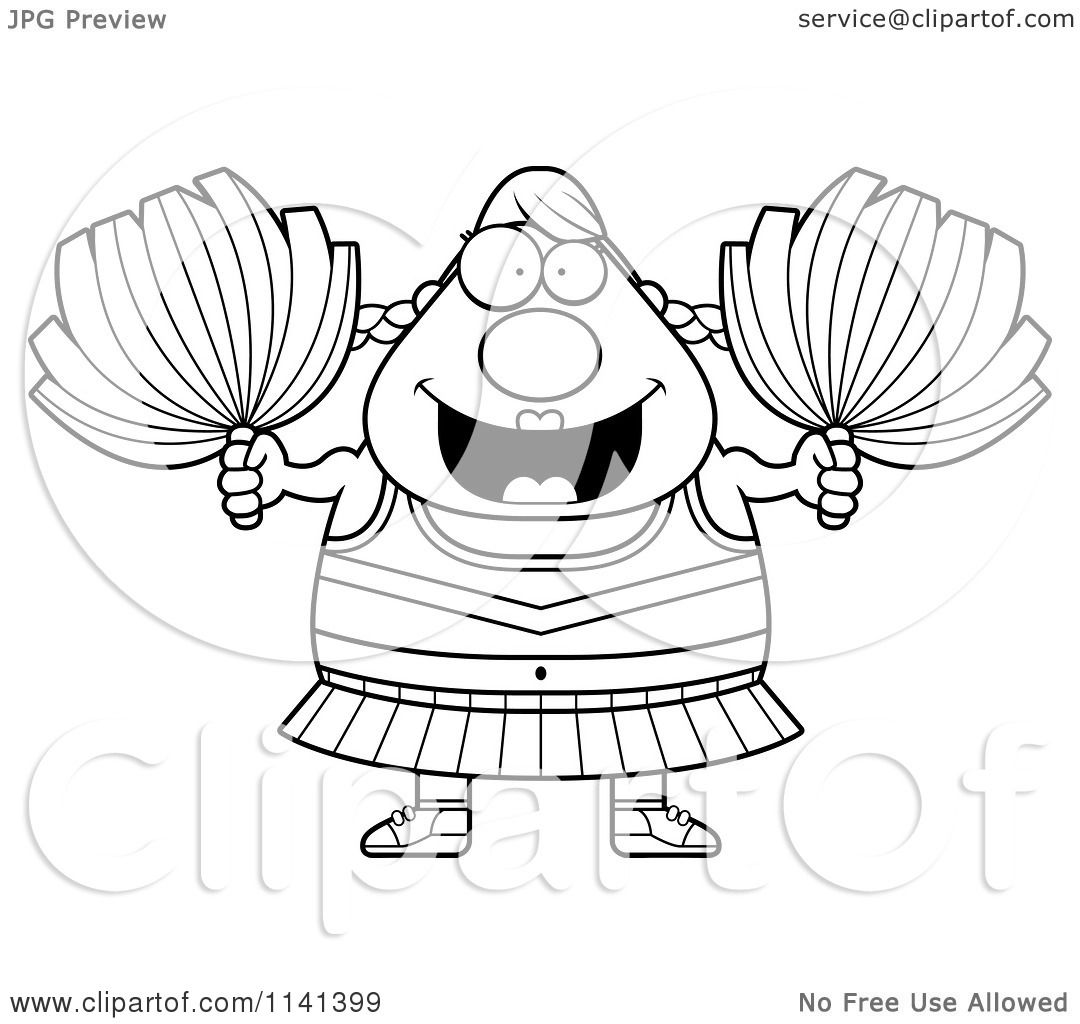 Pin Cheerleading Coloring Pages Free Pelautscom on Pinterest