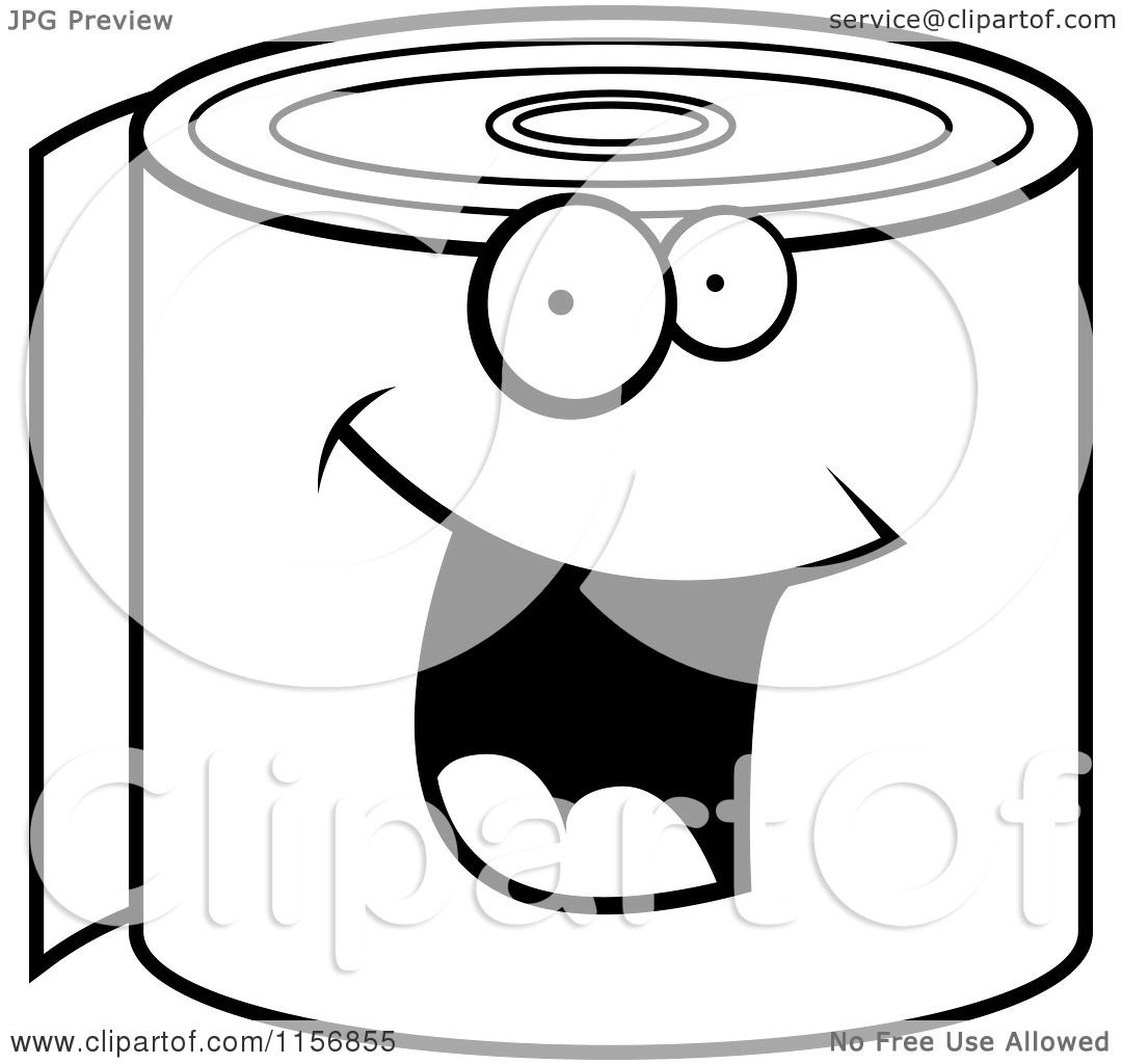 Coloring Pages Toilet Paper