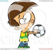 cartoon clipart of happy caucasian