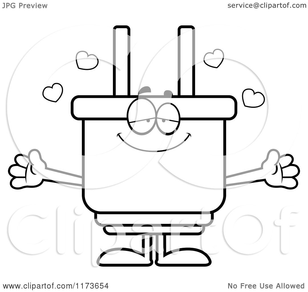 Coloring Picture Of Plug Coloring Pages