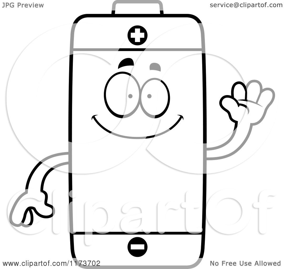 Free to battery coloring pages