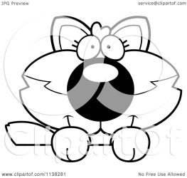 wolf baby cute cartoon clipart coloring looking goofy vector outlined surface cory thoman clipartof regarding notes